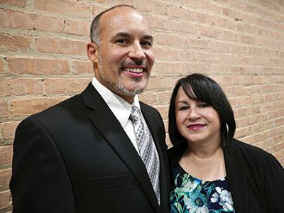 Ricardo y Cecilia López