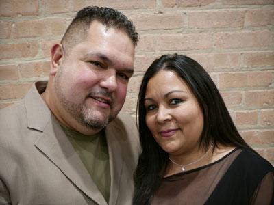 Gabriel y Carmen Lugaro