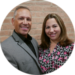 Felix y Zulema Gonzalez sirven como lideres del Ministerio de Ujieres en la Iglesia Rebano