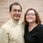 Herminio y Leonor Sandoval sirven como Lideres del Ministerio de Educacion Cristiana en la Iglesia Rebano