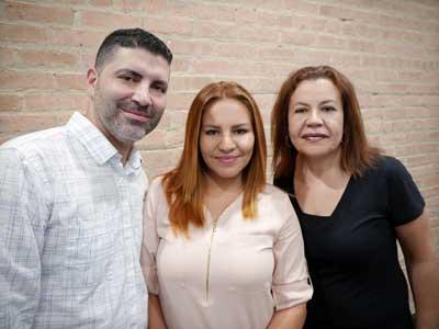 Reinaldo y Hendrya Delgado, María Longoria