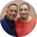 Nelson y Martha Ginez sirven como Lideres del Ministerio de Matrimonios en la Iglesia Rebano