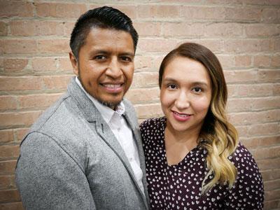 Sergio y Lesley Azucena